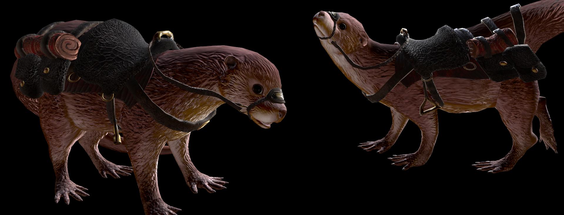 3D Model | Otter